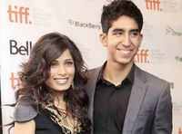 Freida Pinto and Dev Patel friends forever!