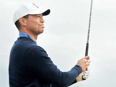 Golf: Tiger Woods out in The Open