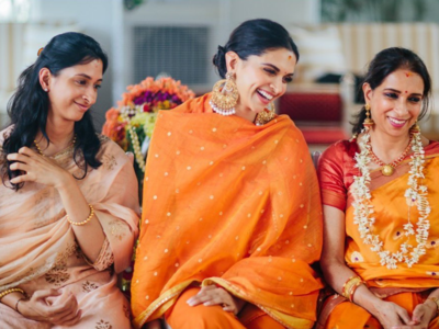 Deepika Padukone shares unseen picture from her pre-wedding ceremony