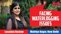 Facing waterlogging issues | Malviya Nagar, New Delhi
