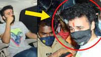 Porn films: Raj Kundra in tears as he walks out of jail
