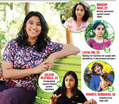 Five change-makers on a mission to bring about a revolution: Superwomen