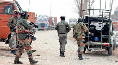 Terrorists storm CRPF camp, kill 5 jawans