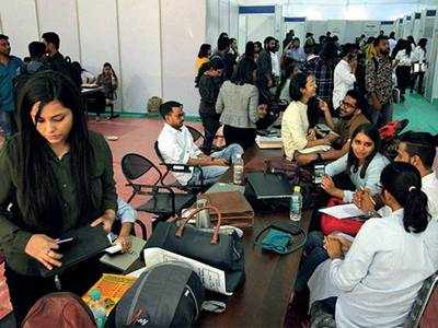 Mixed emotions at NID's campus placement