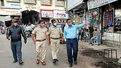 KCB crackdown at Khadki Bazaar