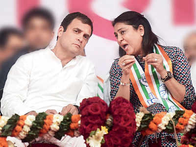 Priya Dutt : Rahul Gandhi is the one who convinced me to fight the election