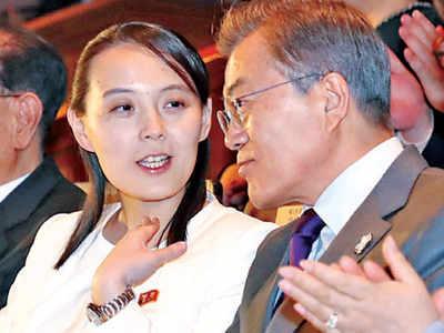 Kim Jong-un's sis calls S Korean prez 'parrot'