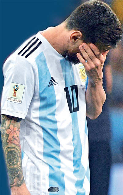 low priced d61ee fc4b0 FIFA World Cup 2018: Fans disappointed with Argentina's ...