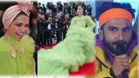 Cannes 2019: Ranveer Singh's 'wow' reaction on Deepika Padukone's neon green gown