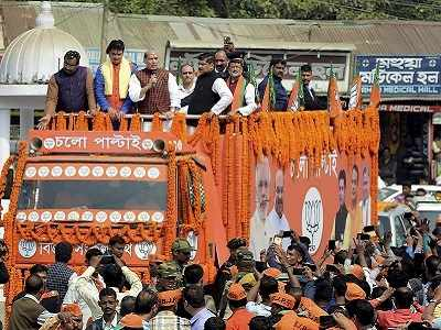 Tripura Elections: BJP's slogan Chalo Paltai and a money-fuelled campaign are challenging CPM