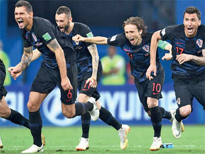 FIFA World Cup 2018: Croatia defeats Russia to qualify for semi-finals against England