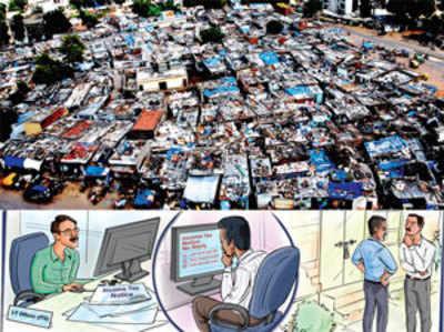 Slum Millionaires send taxmen on a wild Goose chase
