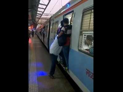 Central Railway launches blue light to make commuting on local trains safer