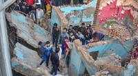 Noida building collapses, 12-year-old boy crushed to death