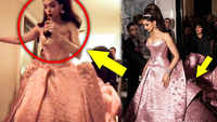 When Deepika Padukone casually tripped while sipping a drink