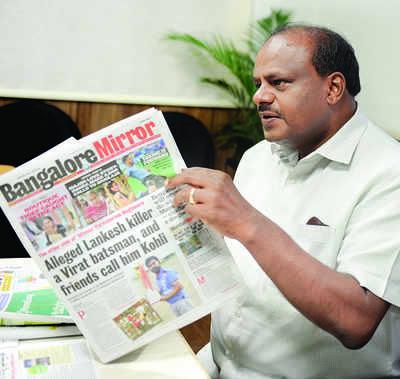Satellite townships, suburban trains on the cards: Chief Minister HD Kumaraswamy to Bangalore Mirror
