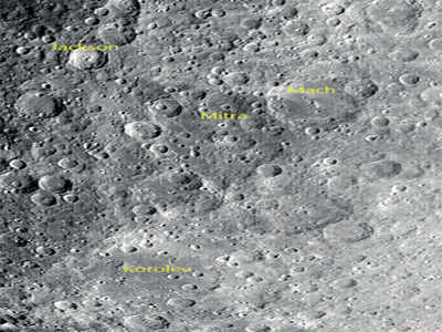 Chandrayaan-2 shares photos of craters on Moon's surface