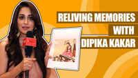 Dipika Kakar relives memories |Kahaan Hum Kahaan Tum| |Exclusive|