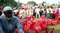 Scuffle breaks out between RJD workers during party's election rally in Saharsa