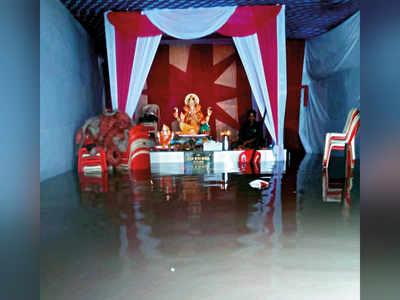Ganpati devotee footfall sees a sharp downturn