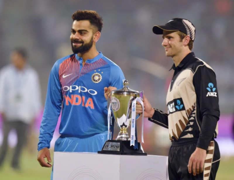 Photos: India vs New Zealand Series 2017, 1st T20, New Delhi: Rohit Sharma and Shikhar Dhawan power team to victory