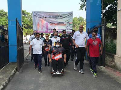 SAI Gandhinagar organises Fit India Freedom Run