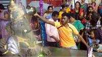 Hyderabadis go eco-friendly for Ganesh immersion