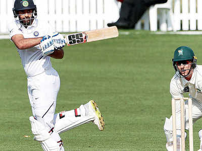 Hanuma Vihari, Cheteshwar Pujara revive India against New Zealand XI