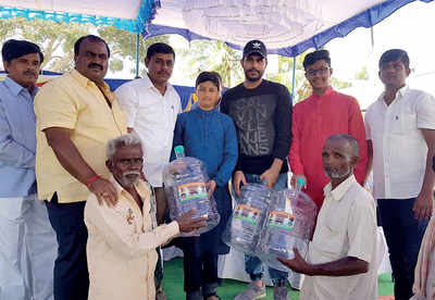 Students give villagers what government couldn't for years: Drinking water