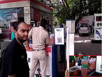 Water-mixed petrol allegedly sold at Nizamuddin pump to consumers already reeling under sky-high oil prices