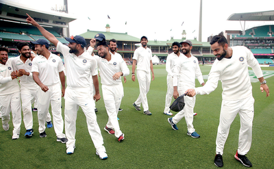 India's Test series victory paves the way for more success Down Under