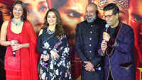 'Kalank' promotions: Madhuri Dixit upset with ban on Sanjay Dutt