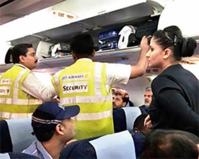 Flight 'hijacked' by wedding party