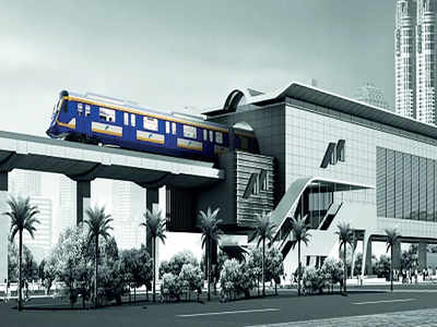 Test run for two elevated metro lines tomorrow