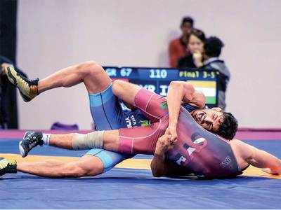Indian GR wrestlers end with 5 medals