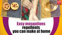 Easy mosquitoes repellents you can make at home