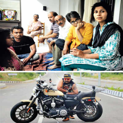 'Harley riding group abandoned me with my husband's body'