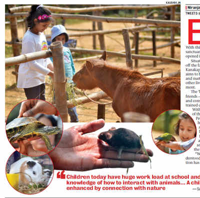 Prani – The Pet Sanctuary has rescued animals from all over the state: Nature's classroom