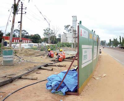 Properties razed to make way for Metro