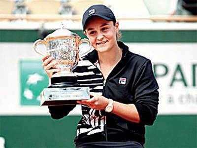 Australia's 46-year wait ends, Ashleigh Barty wins her maiden title for French Open singles