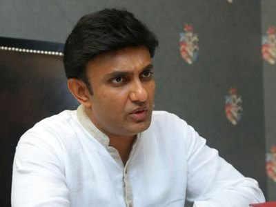 Karnataka Congress MLA K Sudhakar strikes discordant note