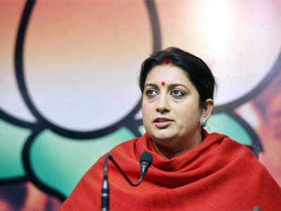 Rahul Gandhi's 'spiteful, vile' politics based on lies: Smriti Irani