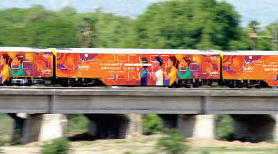 First branded train to chug ahead on Monday