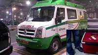 Green corridor provided for ambulance for speedy transportation of human heart
