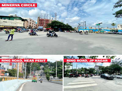 Traffic Police want BBMP to fix 29 roads on priority as these are accident prone