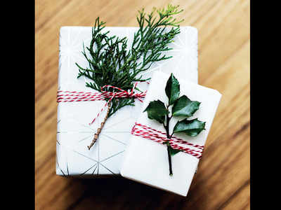 PLAN AHEAD : The art of gift wrapping