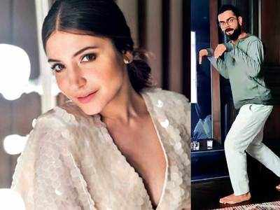 Virat Kohli hits it out of the Jurassic park for Anushka Sharma