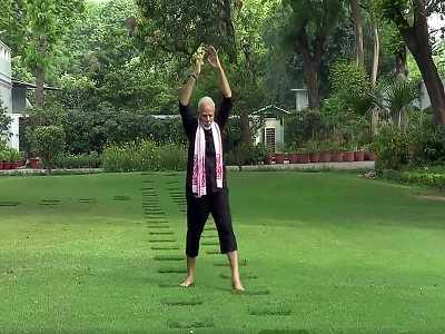 PM Narendra Modi fitness video: Opposition leaders react with their own challenges