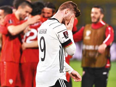Germany's unbeaten WC qualifying run ends