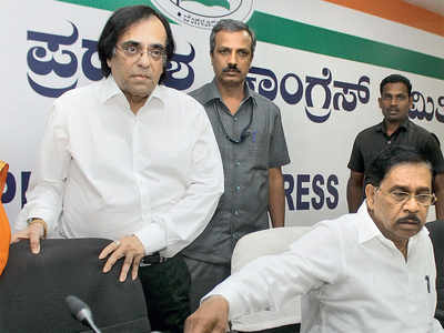 Ashok Kheny's induction triggers protests in Cong